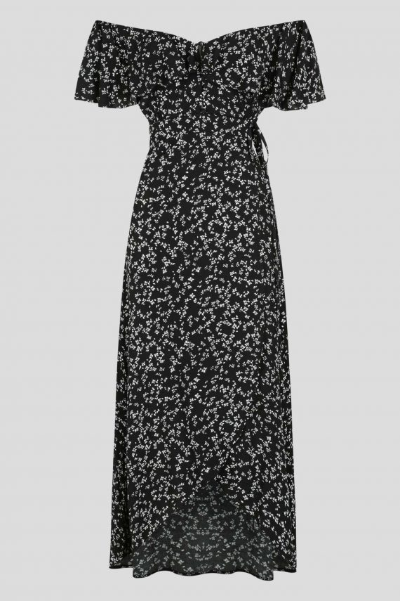Delano Dress Ladies Dress Colour is Black Floral Print