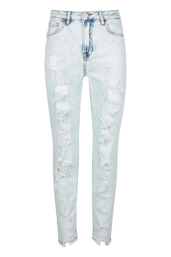 Arlenta Jean Ladies Jeans Colour is Light Blue