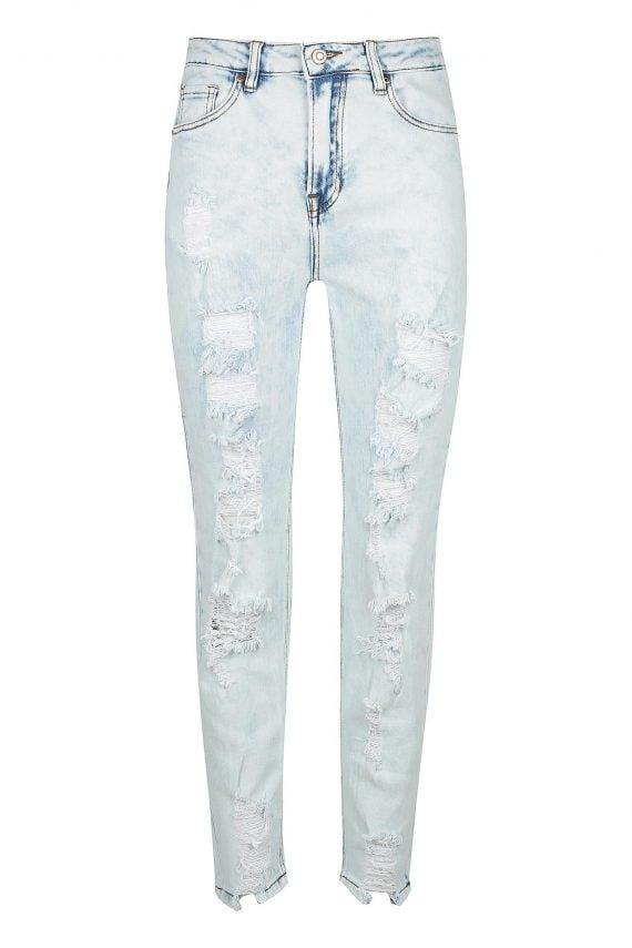 Arlenta Jean Ladies Jeans Colour is Light Blue