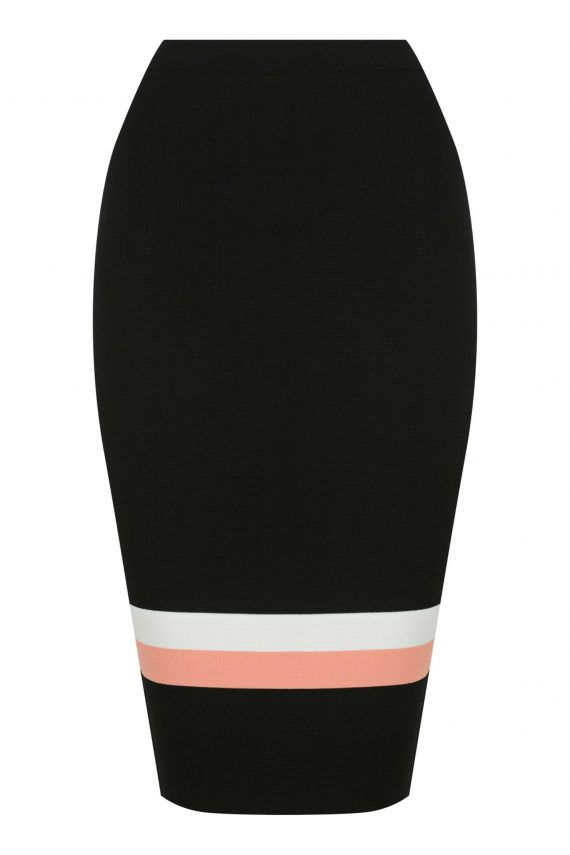 Pluma Knit Skirt Ladies Skirt Colour is Multi Stripe