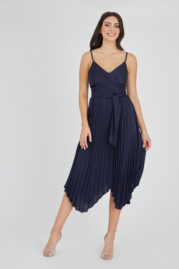 Encore Dress Ladies Dress Colour is Navy