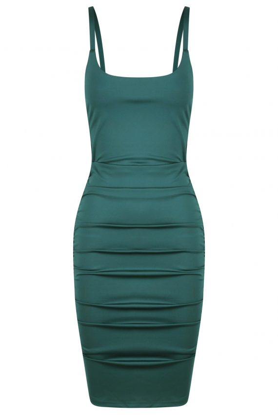 Los Angeles Dress Ladies Dress Colour is Green