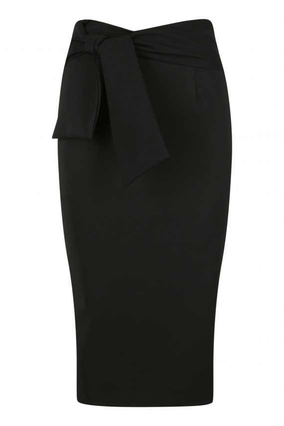 Caluso Skirt Ladies Skirt Colour is Black