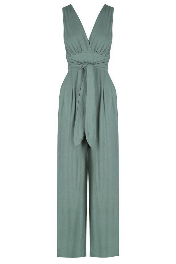 California Jumpsuit Ladies Jumpsuit Colour is Sage
