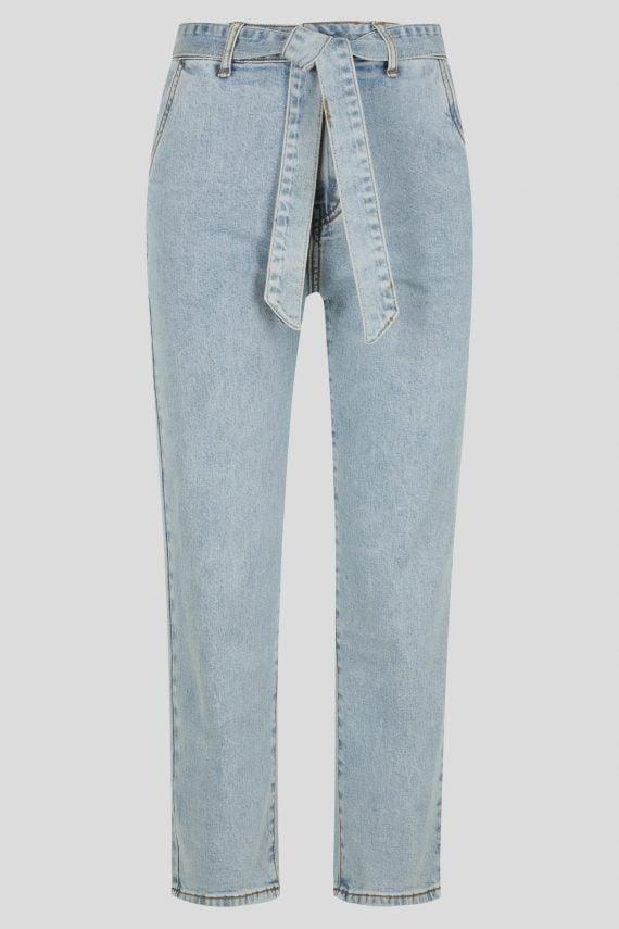 Delfina Jean Ladies Jeans Colour is Blue