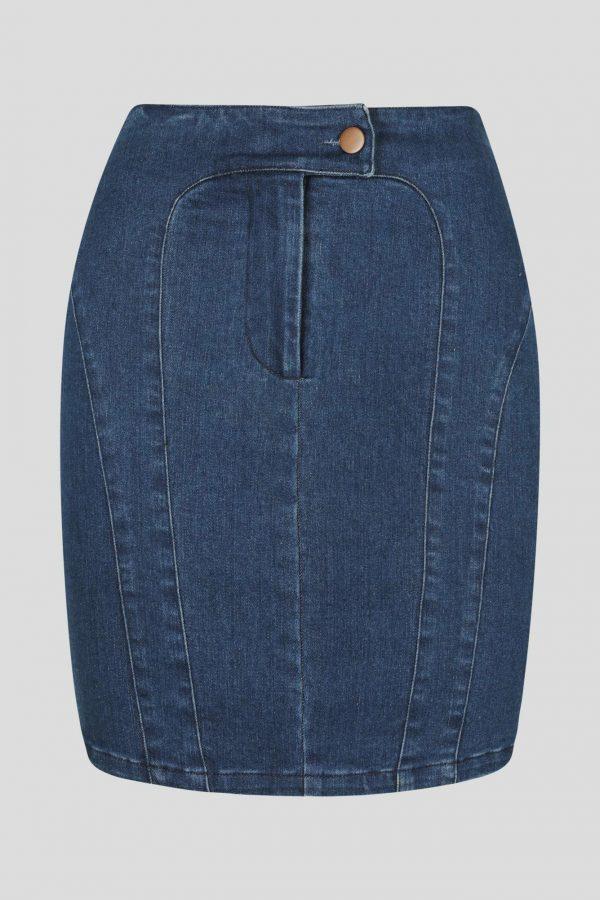 Azulado Skirt Ladies Skirt Colour is Dark Denim