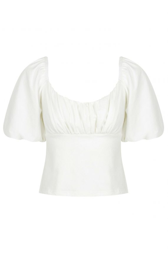 Verano Top Ladies Top Colour is White