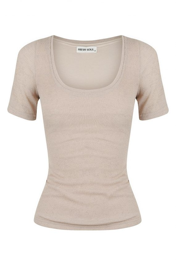 Silva Top Ladies Top Colour is Beige