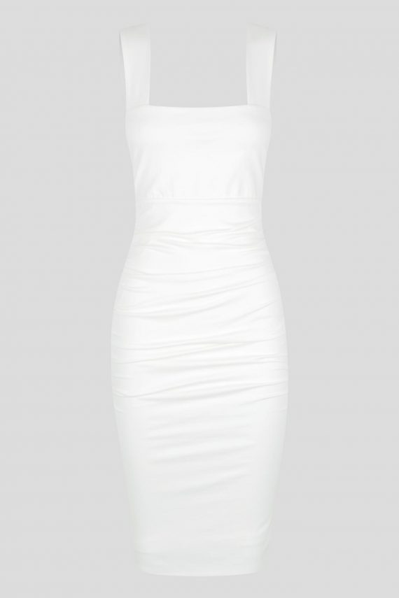 Cerrito Dress Ladies Dress Colour is White