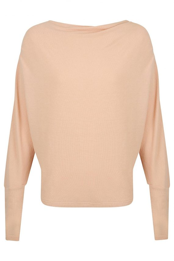 Floriana Top Ladies Top Colour is Nude