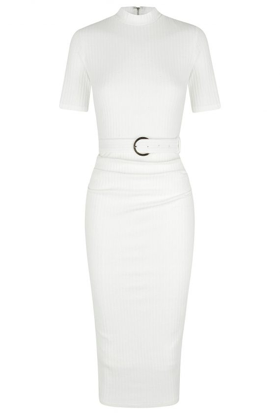 Parrina Dress Ladies Dress Colour is White