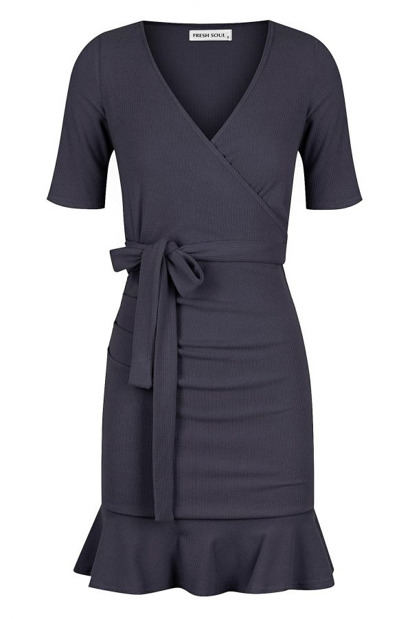 Scenery Dress Ladies Dress Colour is Navy