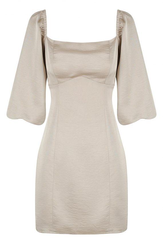 Pendant Dress Ladies Dress Colour is Gold