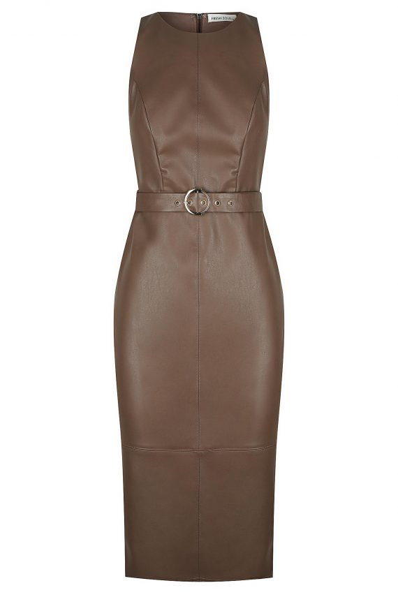 Godiva Dress Ladies Dress Colour is Chocolate
