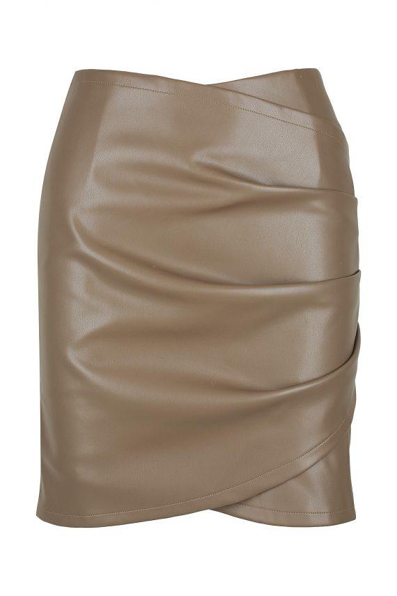 Bodega Skirt Ladies Skirt Colour is Taupe