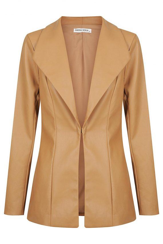 Godiva Jacket Ladies Jacket Colour is Tan