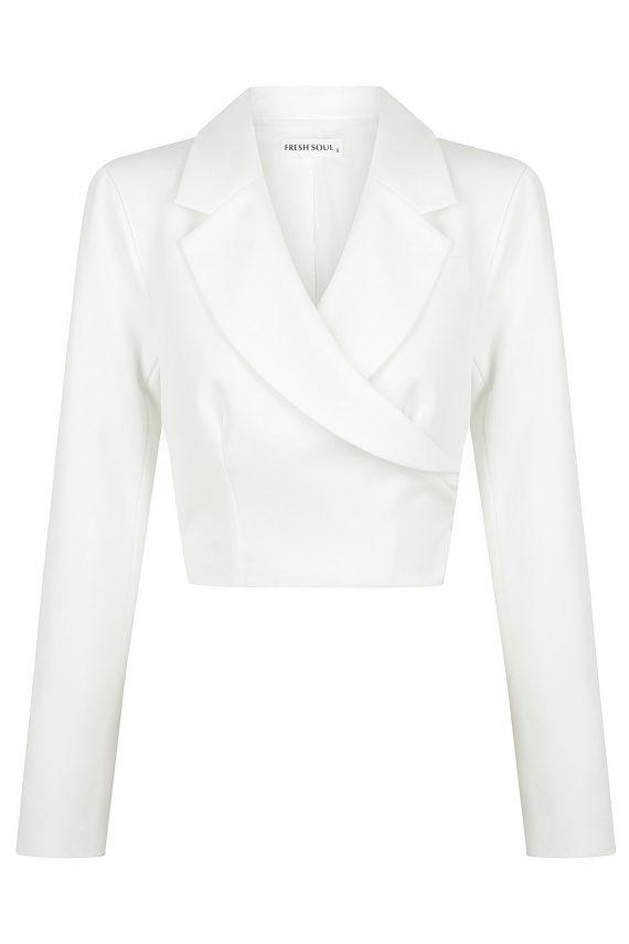 Genova Jacket Ladies Jacket Colour is White