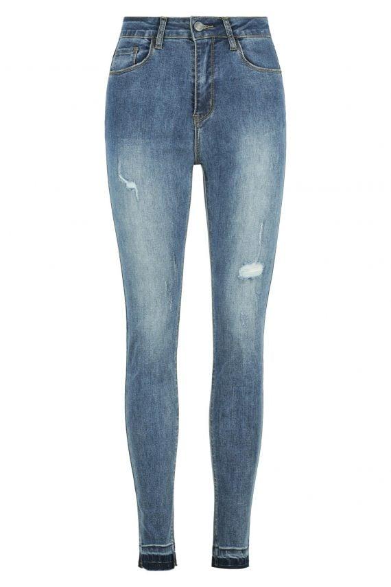 Mercury Jean Ladies Jeans Colour is Dark Blue