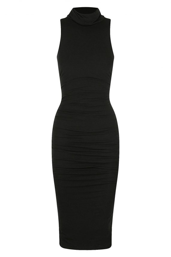 Caserta Dress Ladies Dress Colour is Black
