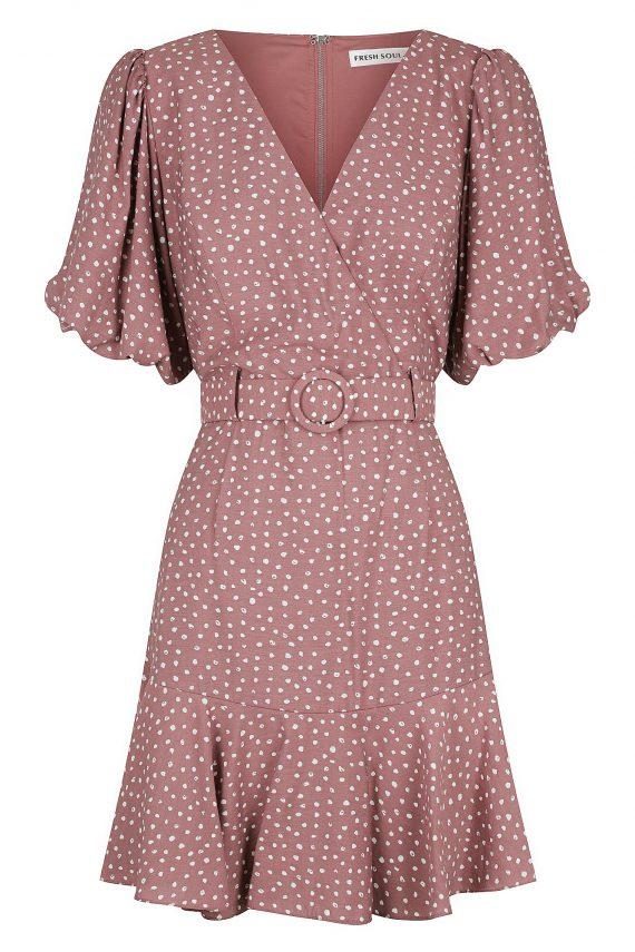 Madrona Dress Ladies Dress Colour is Plum Spot