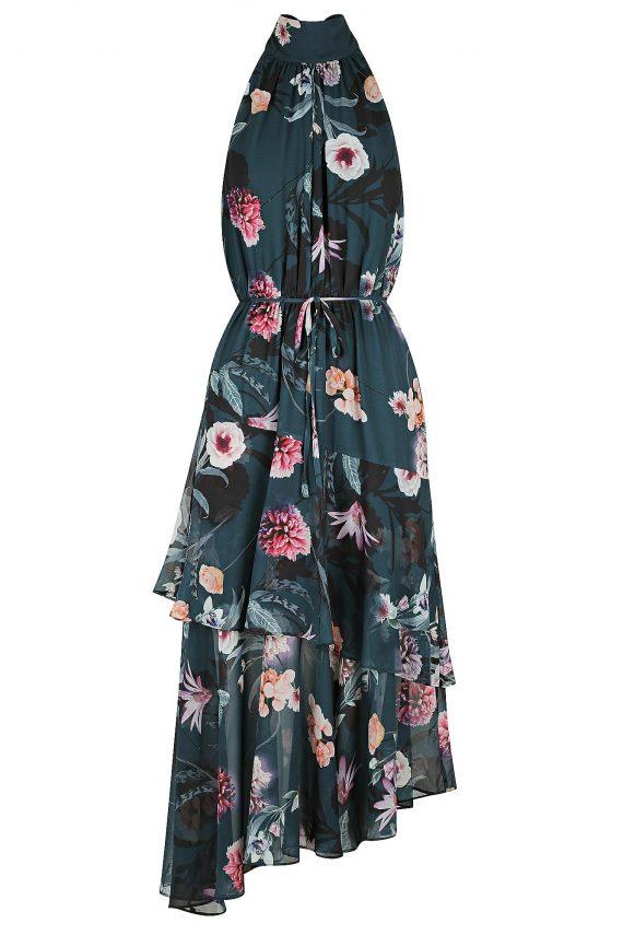 Secret Garden Maxi Dress Ladies Dress Colour is Secret Garden Print