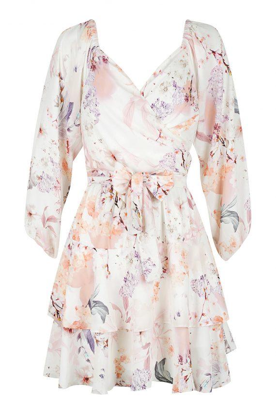 Sakura Dress Ladies Dress Colour is Sakura Print