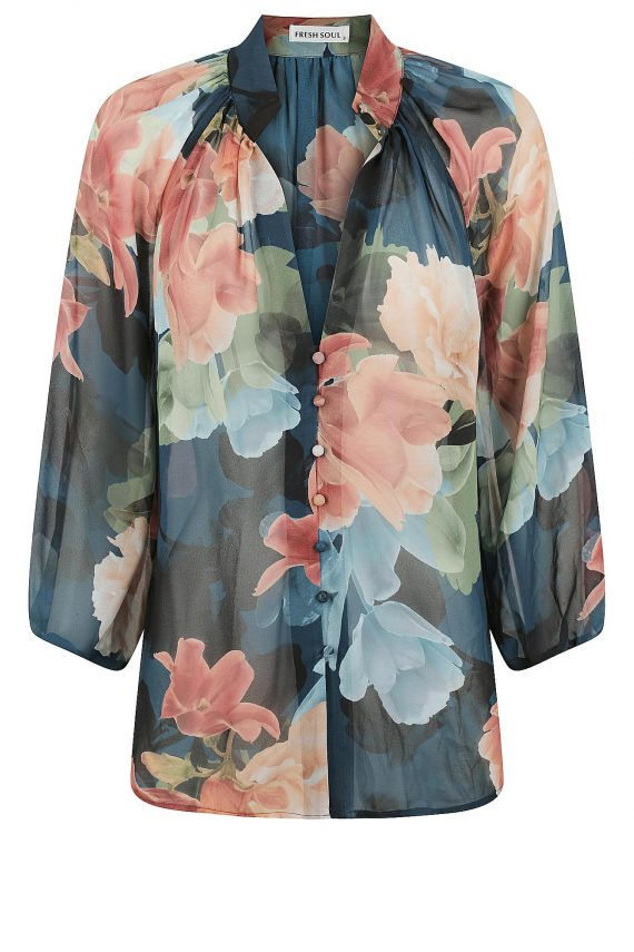 Carnation Top Ladies Top Colour is Carnation Print