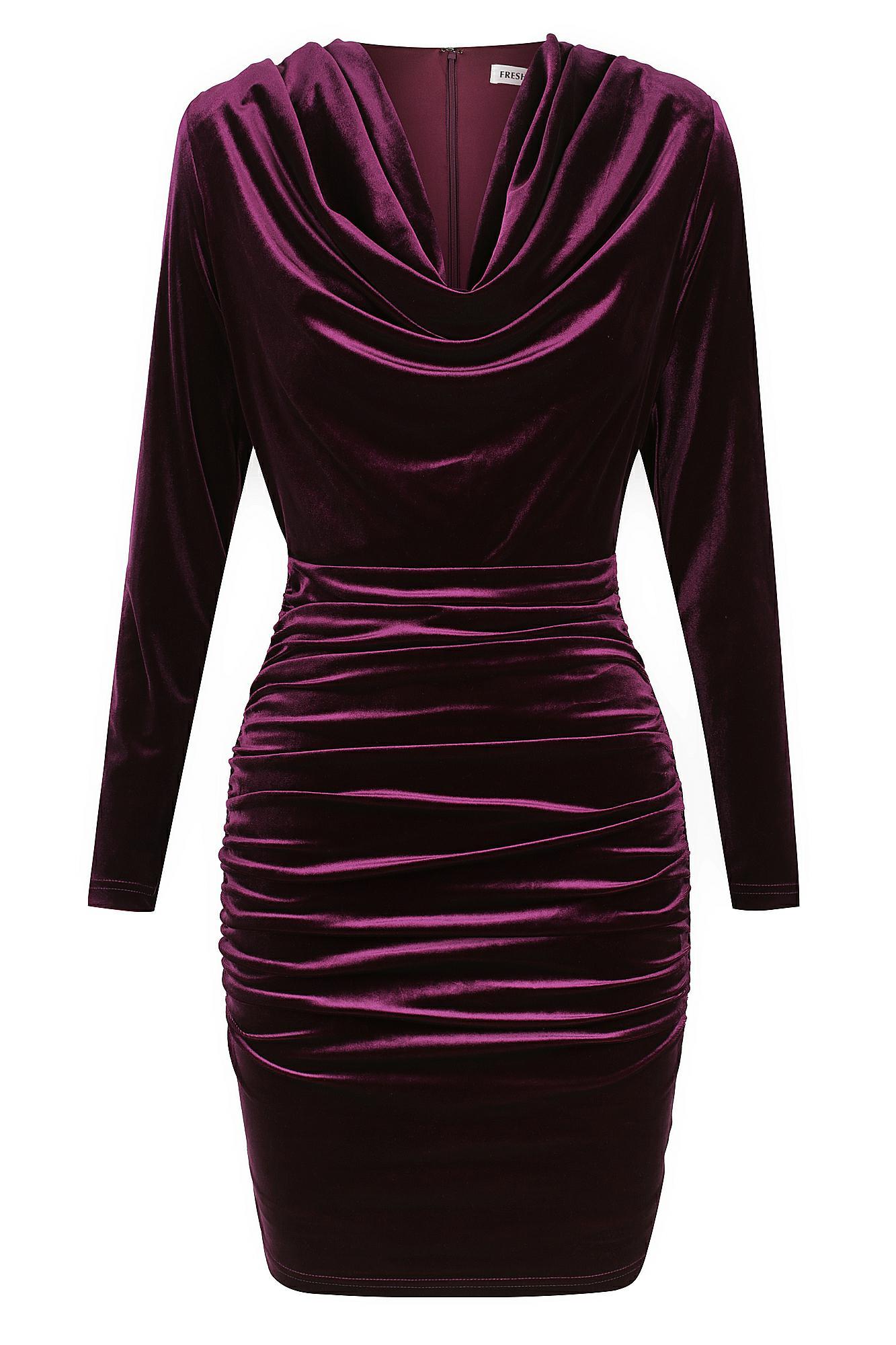 Billionaire Dress Ladies Dress Colour is Purple
