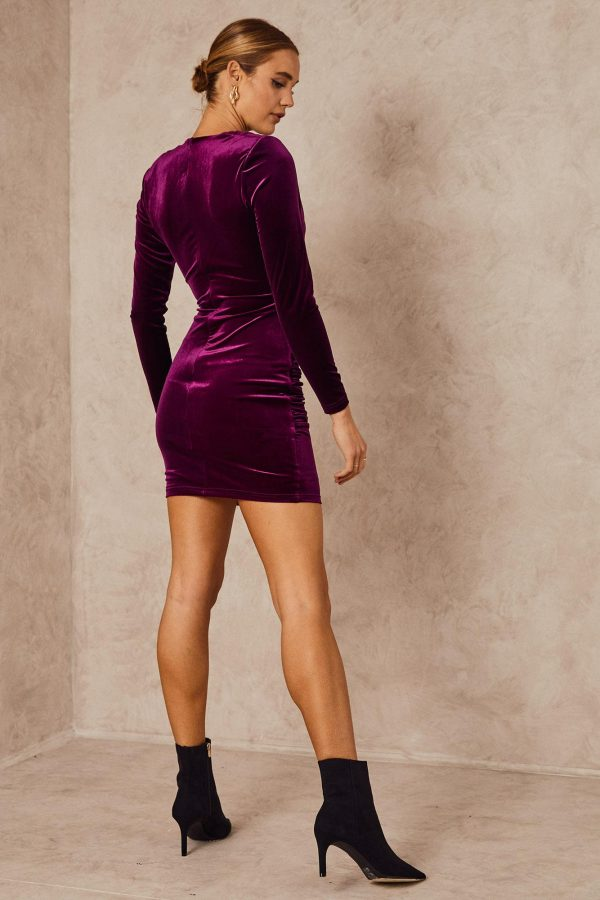 Billionaire Dress Ladies Dress Colour is Purple