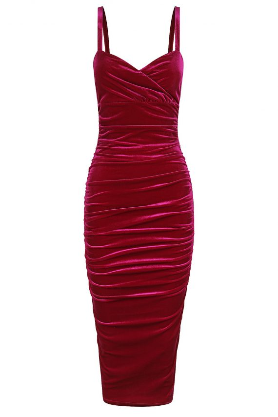 Georgina Dress Ladies Dress Colour is Fuschia