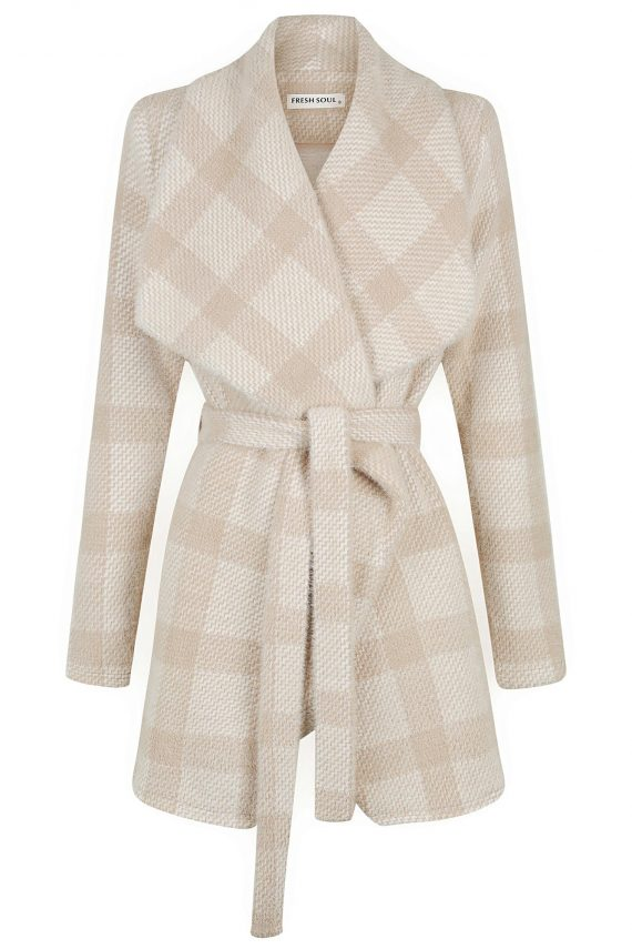 Chateau Jacket Ladies Jacket Colour is Beige Check