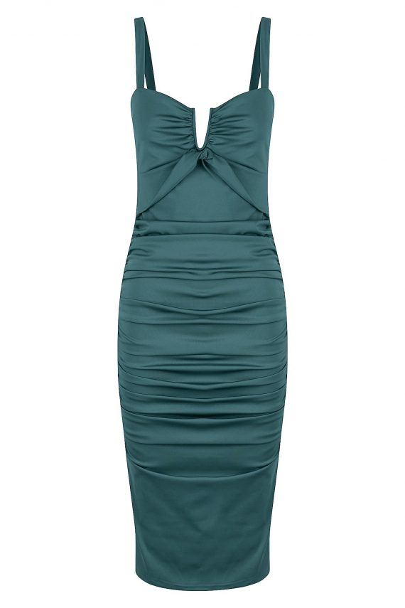 Opalina Dress Ladies Dress Colour is Sage