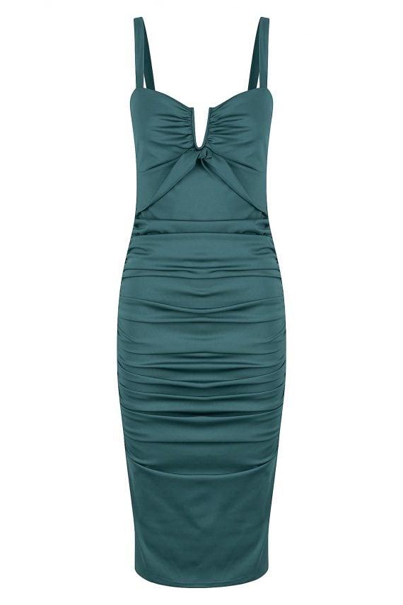 Opalina Dress Ladies Dress Colour is Sage