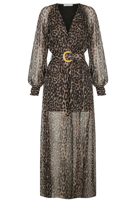 Selvatico Dress Ladies Dress Colour is Leopard Print