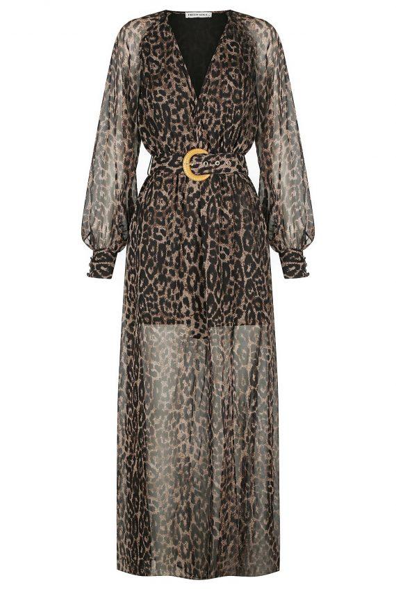 Selvatico Dress Ladies Dress Colour is Leopard Print