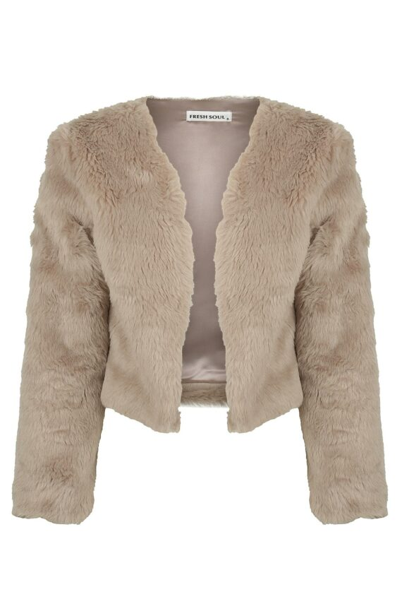 Boss Jacket Ladies Jacket Colour is Taupe