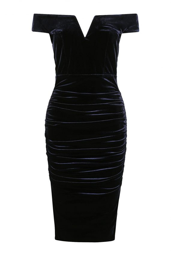 Julliard Dress Ladies Dress Colour is Navy