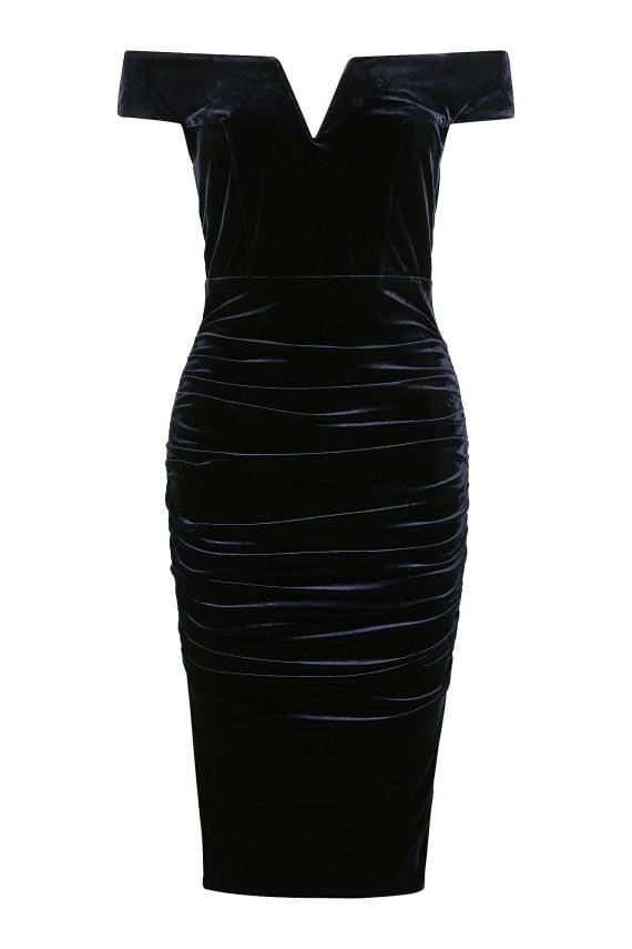 Julliard Dress Ladies Dress Colour is Navy